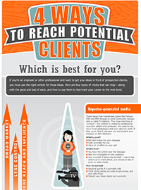 four ways to reach potential clients