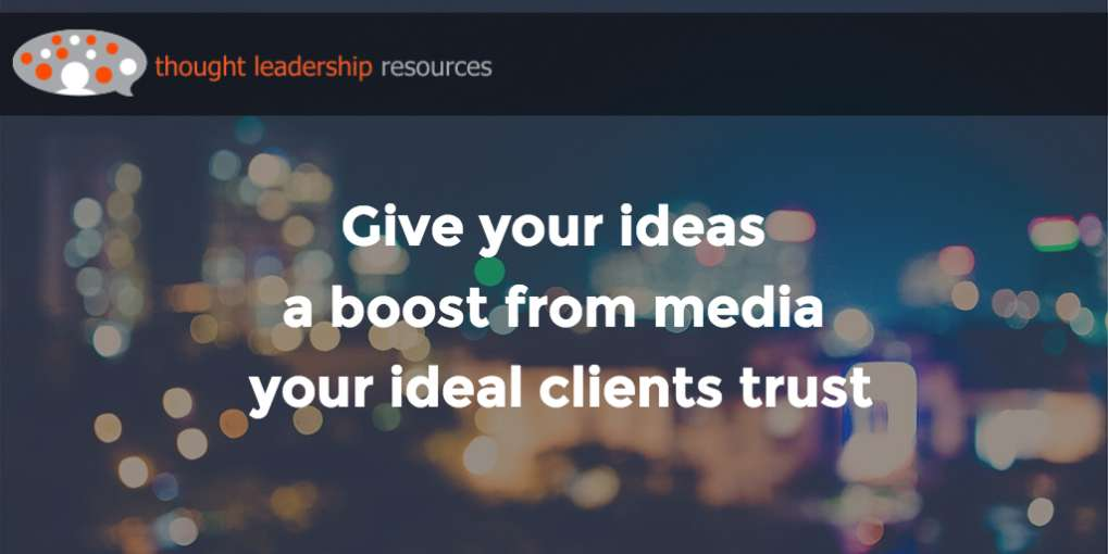 #68 Give your ideas a boost from media your ideal clients trust