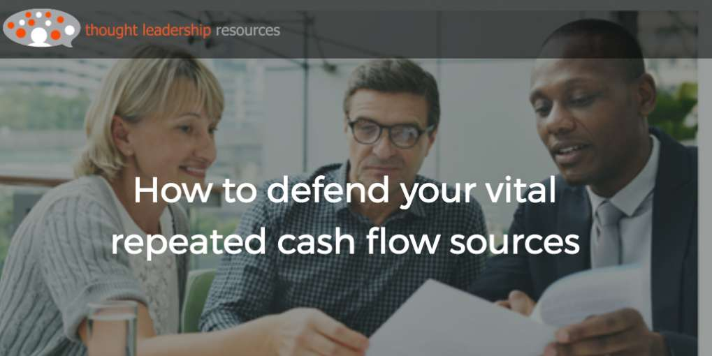 #80 How to defend your vital repeated cash flow sources