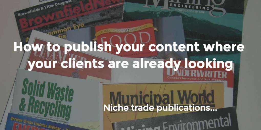 #18 How to publish your content where your clients are already looking