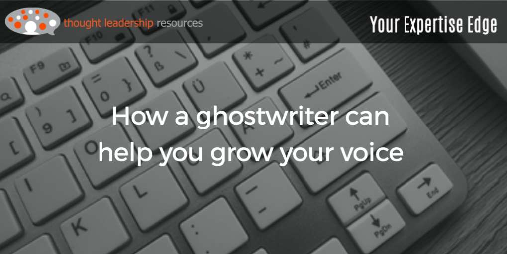 #90 How a ghostwriter can help you grow your voice